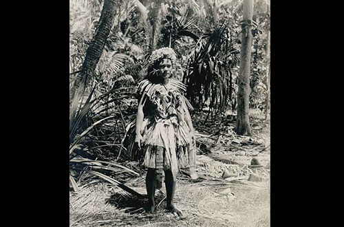 Tuvaluan Woman 1900